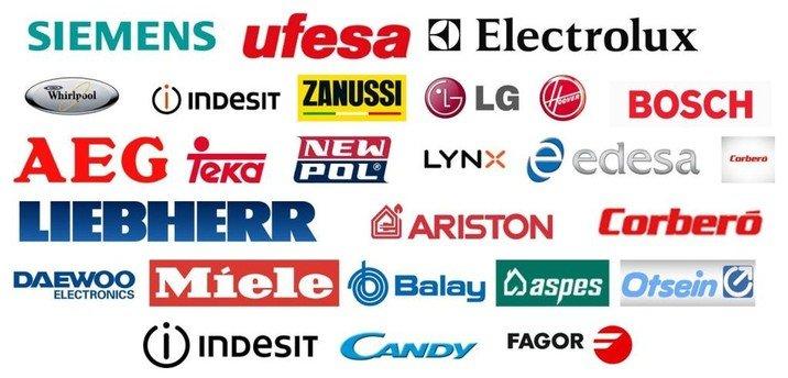 Marcas electrodomesticos reparacion en Huelva